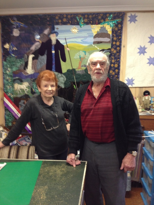 Quilt Collectors - Eileen and Bernie Donnelly