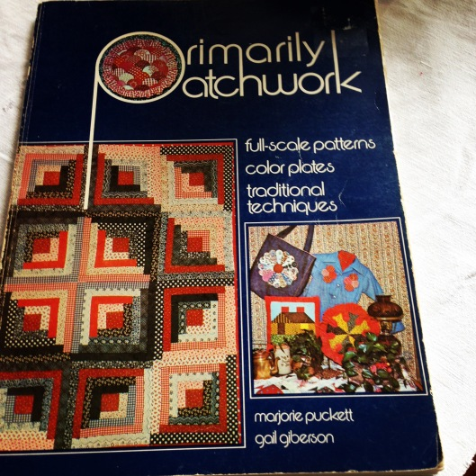 Primarily Patchwork published in 1975 includes detailed construction method of foundation piecing log cabin quilts