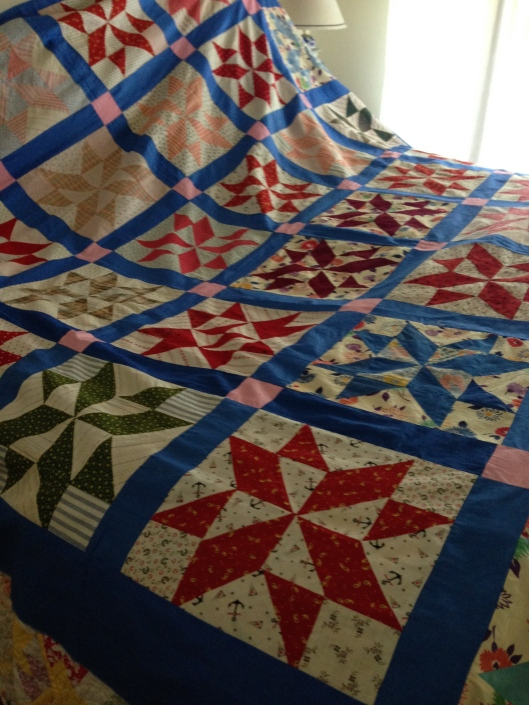 The Variable Star Quilt Top