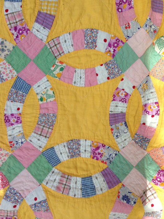 Detail of quilt