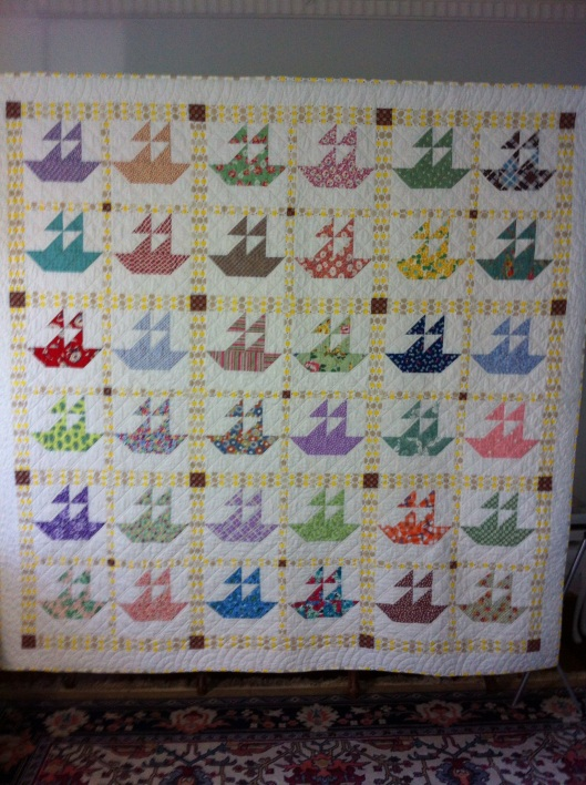 Sail Into Dreamtime - a quilt for Summer