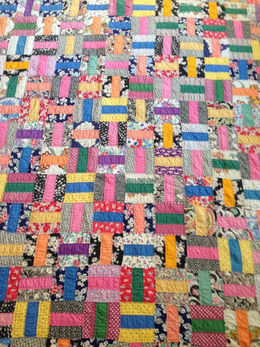 Basketweave Quilt circa 1930s to 40s