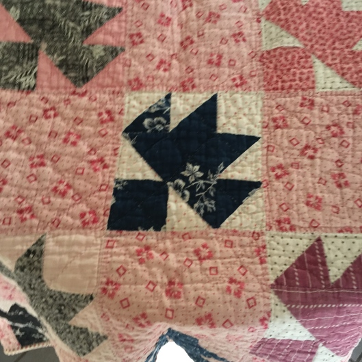 Detail of fabrics.