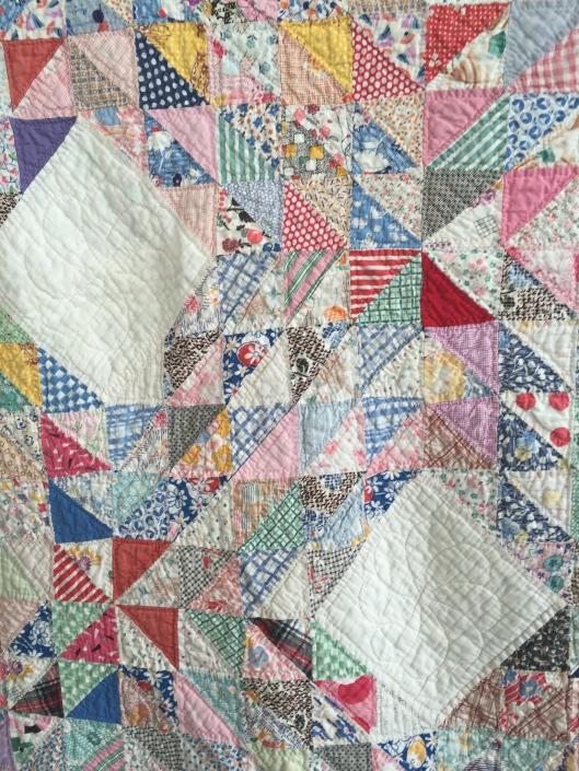 Detail of fabrics