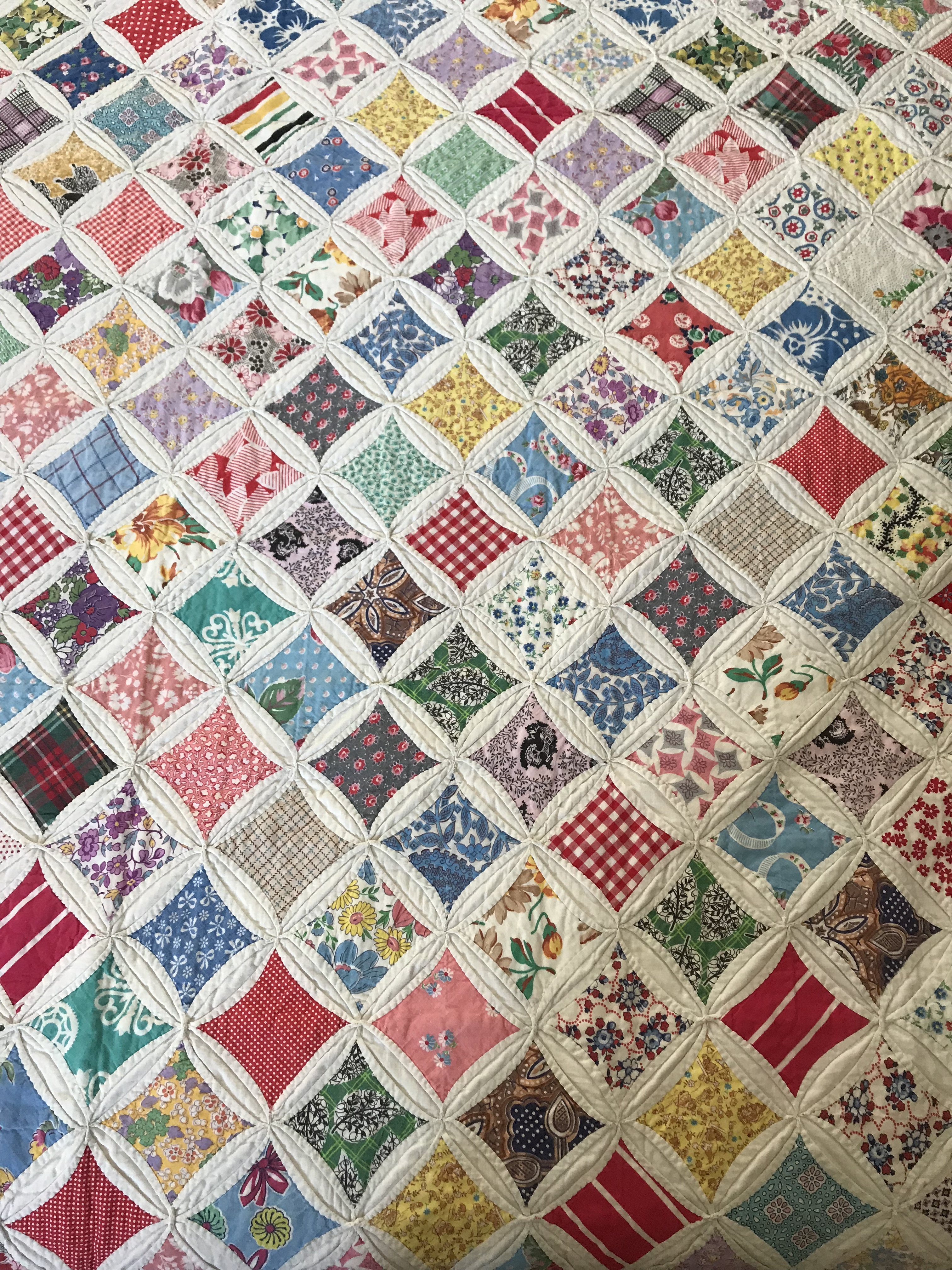 old quilt tops | The Plain Needlewoman